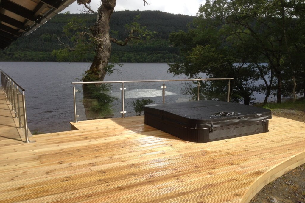 Lodges With Hot Tubs In Scotland Visit Loch Tay Lodges In Scotland