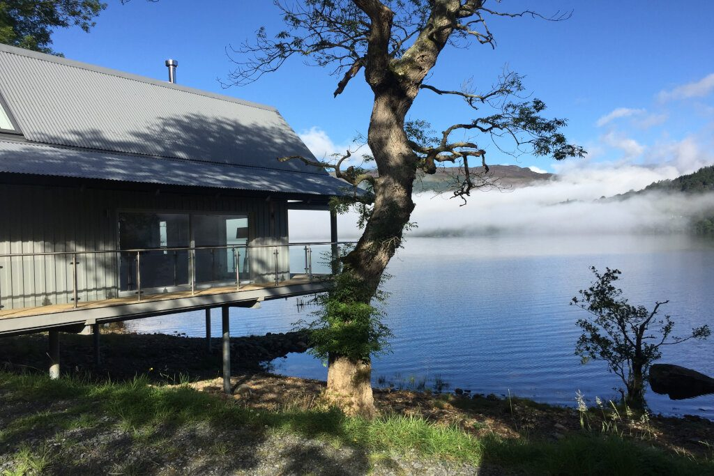 The Oyster Lodge at Loch Tay