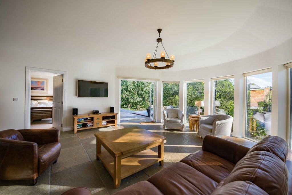 Glen Lochay Lodge Living Room Area